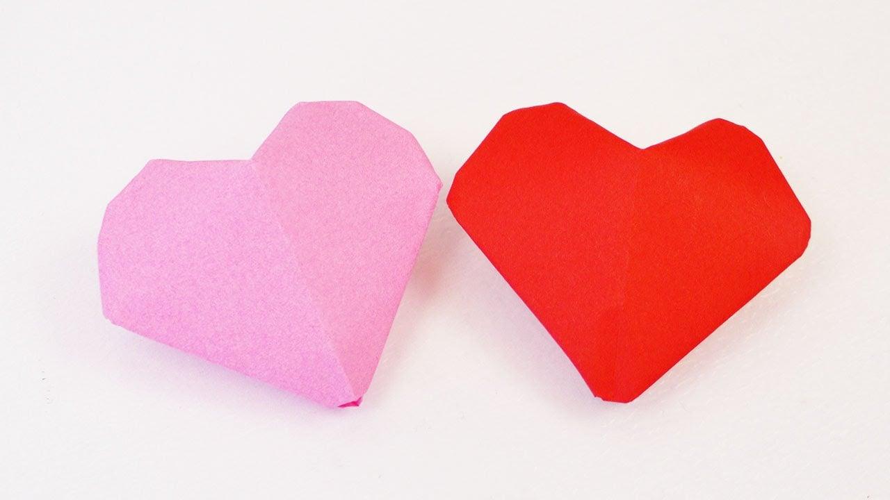 Origami Herzen DIY herrlicher Look