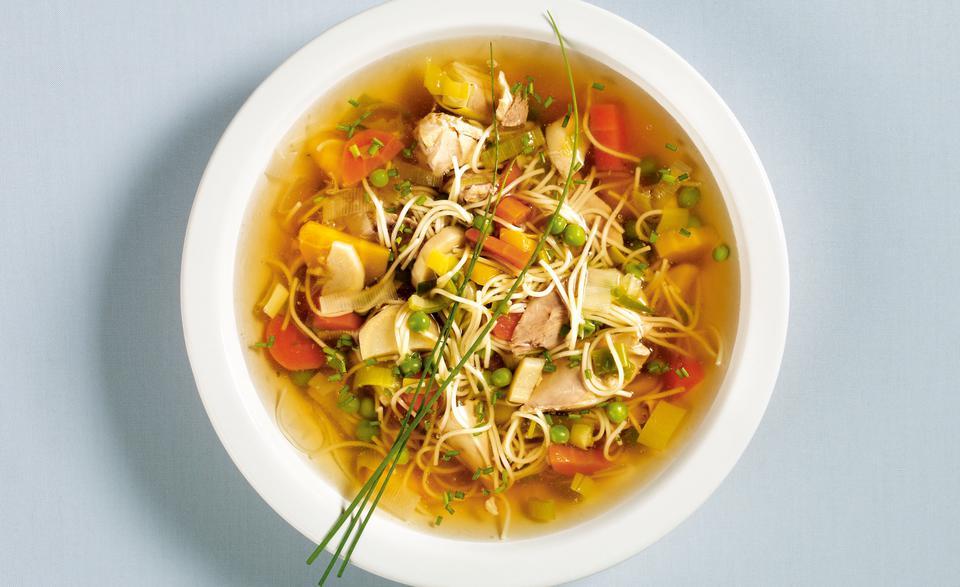 glutenfreie Rezepte Hühnersuppe selber zubereiten