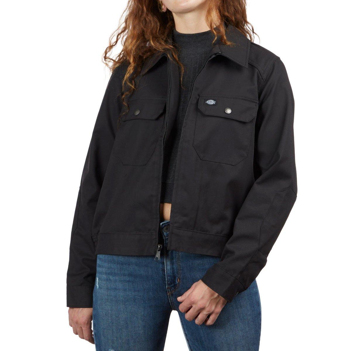 Military Jacke Damen kurz schwarz