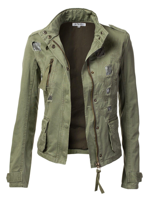 Militär Stil moderne Kleidungsstücke