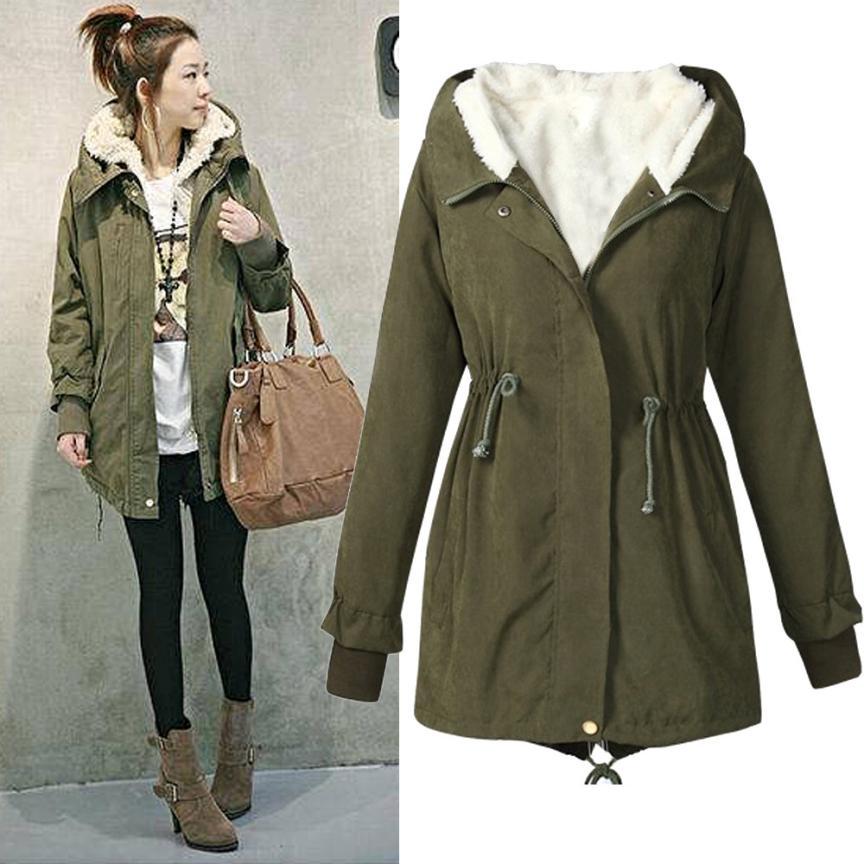 Militär Stil Winter moderne Outfits