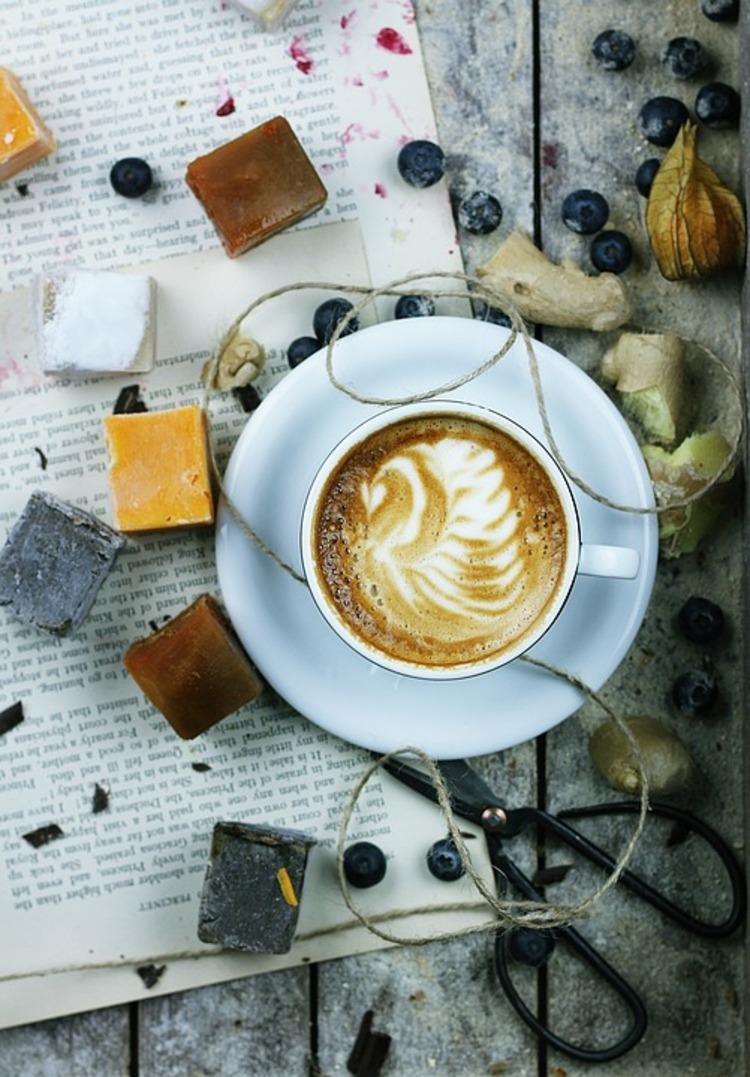 Koffein Wirkung Latte trinken