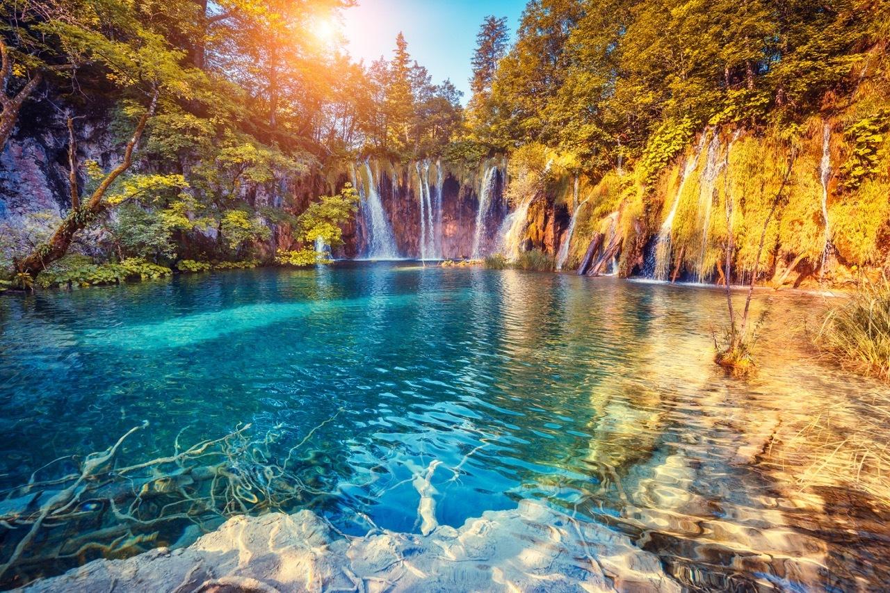Kroatien atemberaubende Natur Sommerurlaub