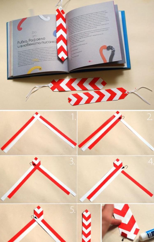 mit Papierstreifen flechten DIY