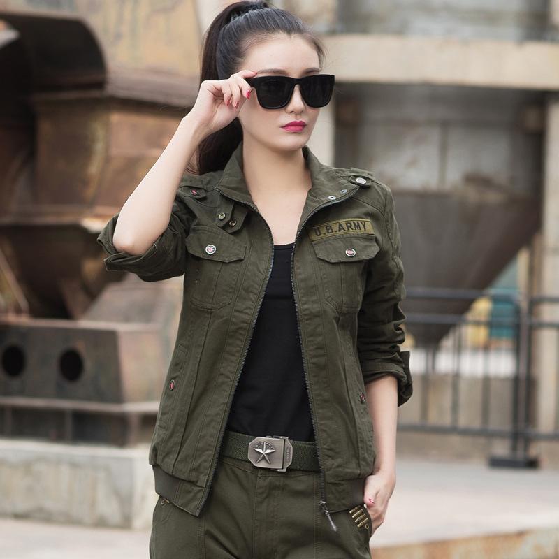 Frauen Militär Stil coole Outfits