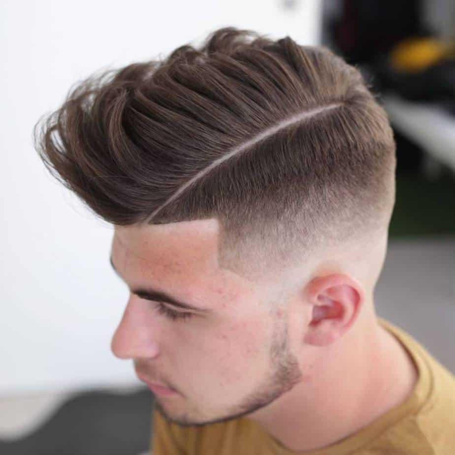 moderne Herrenfrisuren mittellanges Haar