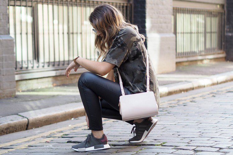 Adidas NMD Damen Outfit casual