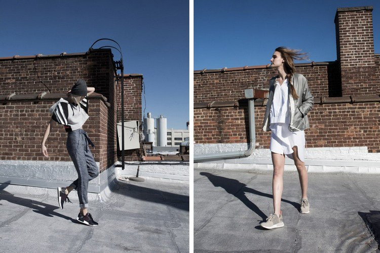 Adidas NMD Damen Sommer kurze Hose Jacke