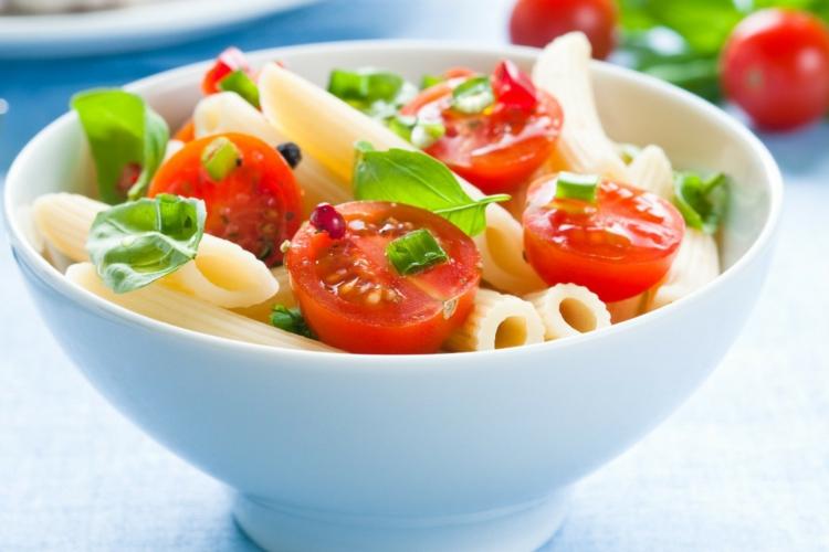 abnehmen Punkte-Diät Rezepte Nudelsalat