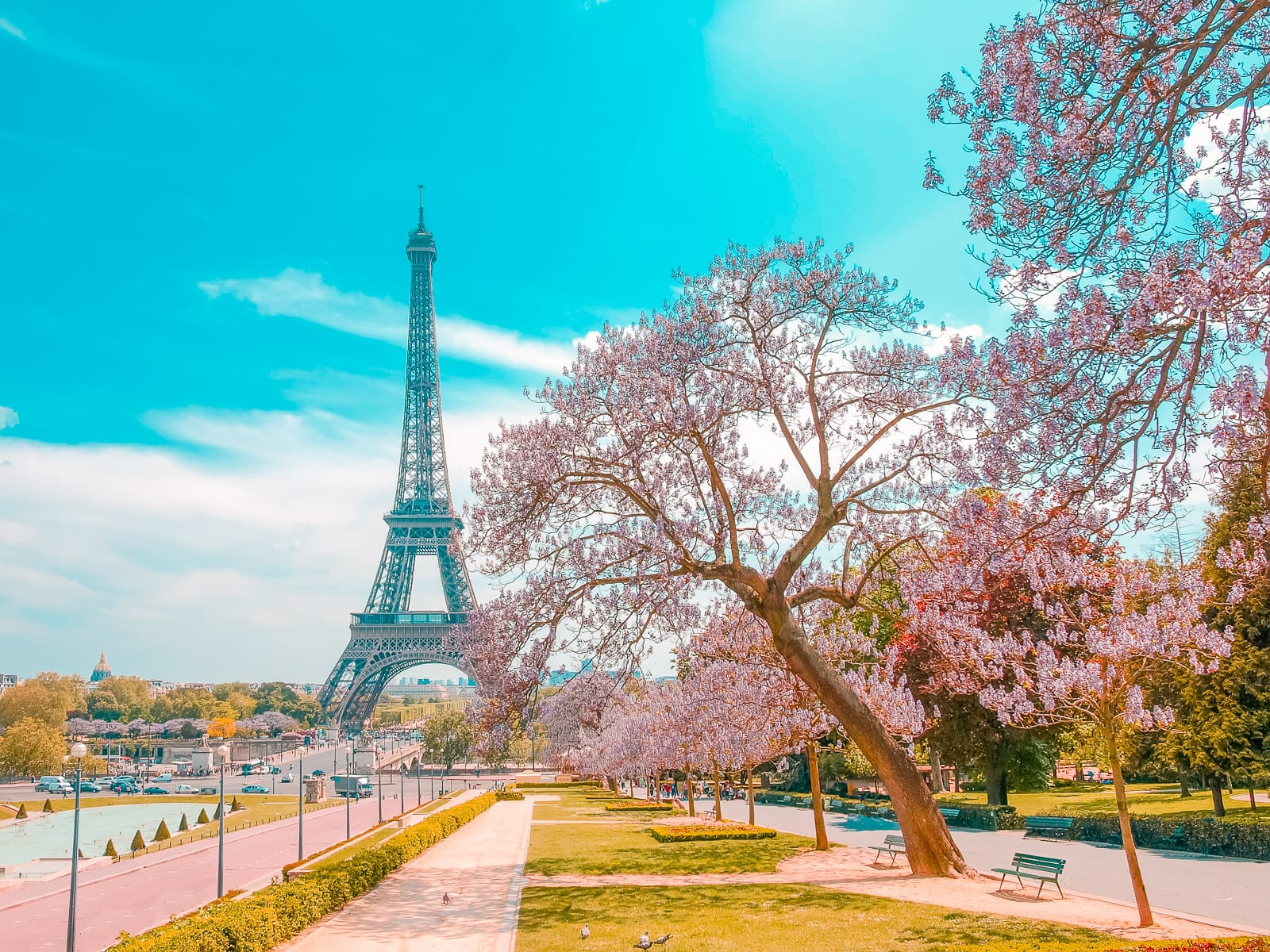 Paris die romantischste Stadt der Welt
