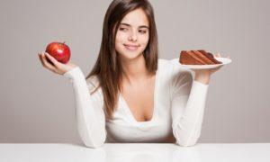 abnehmen Obst statt Süßigkeiten essen