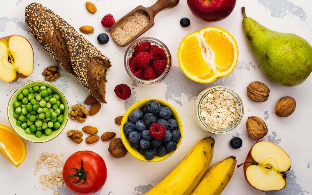 abnehmen gesunde und ausgewogene Ernährung