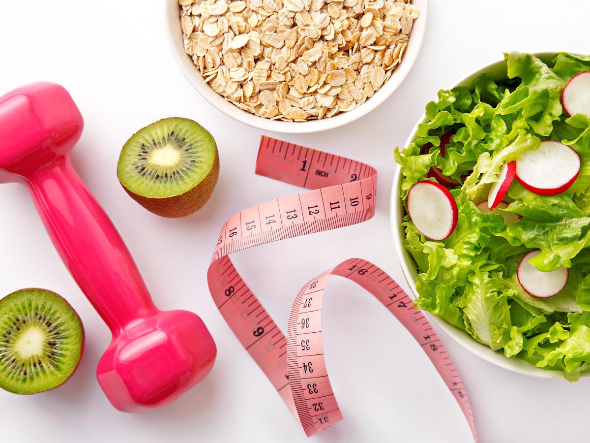 abnehmen Sport und gesunde Ernährung