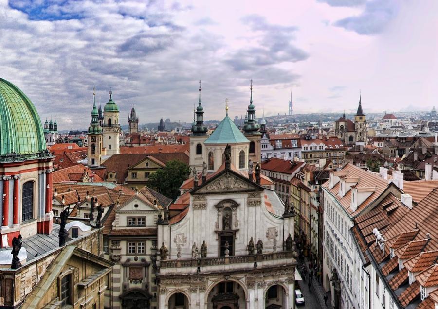 Frauen unterwegs Europareise Prag