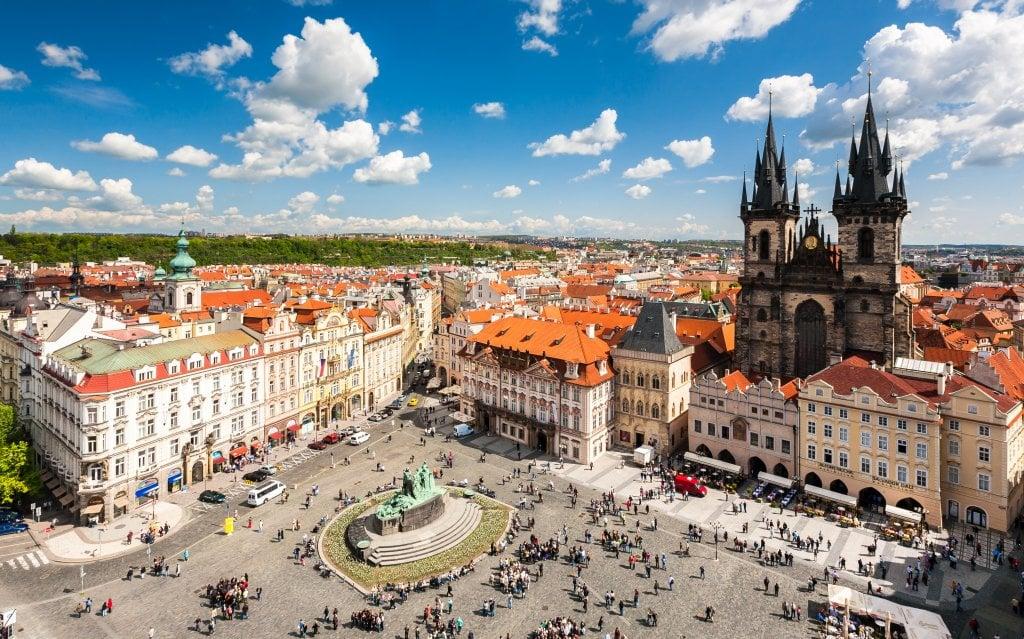 Frauen unterwegs Prag besuchen