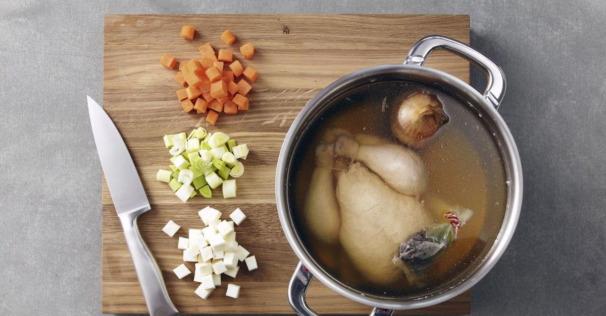 glutenfreie Rezepte schmackhafte Hühnersuppe