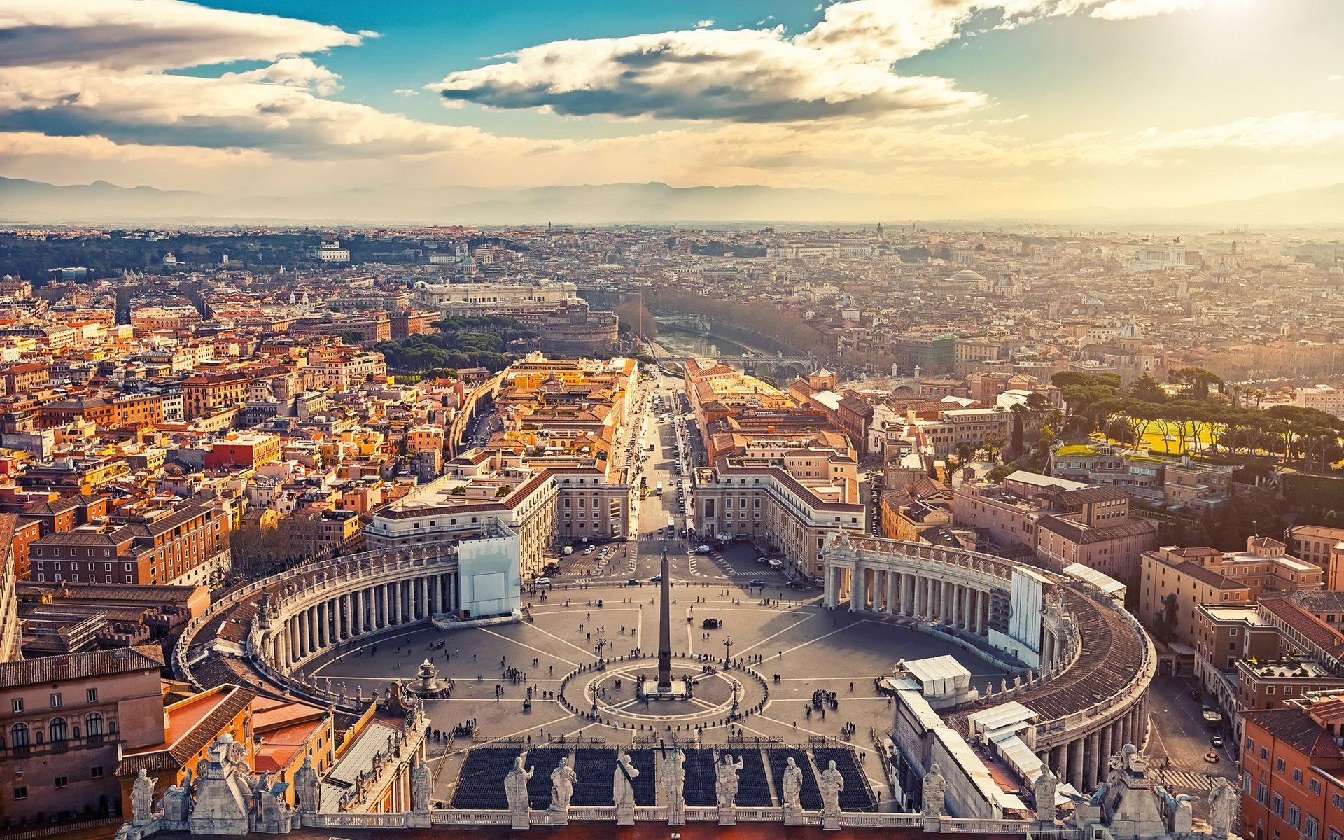 Frauen unterwegs Rom atemberaubende Aussicht