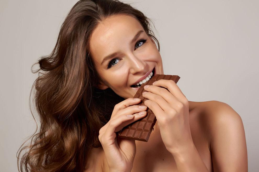 koffeinhaltige Nahrungsmittel Schokolade