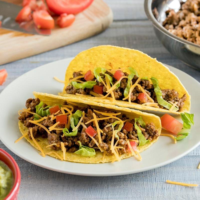 Tacos selber machen leichtes Rezept
