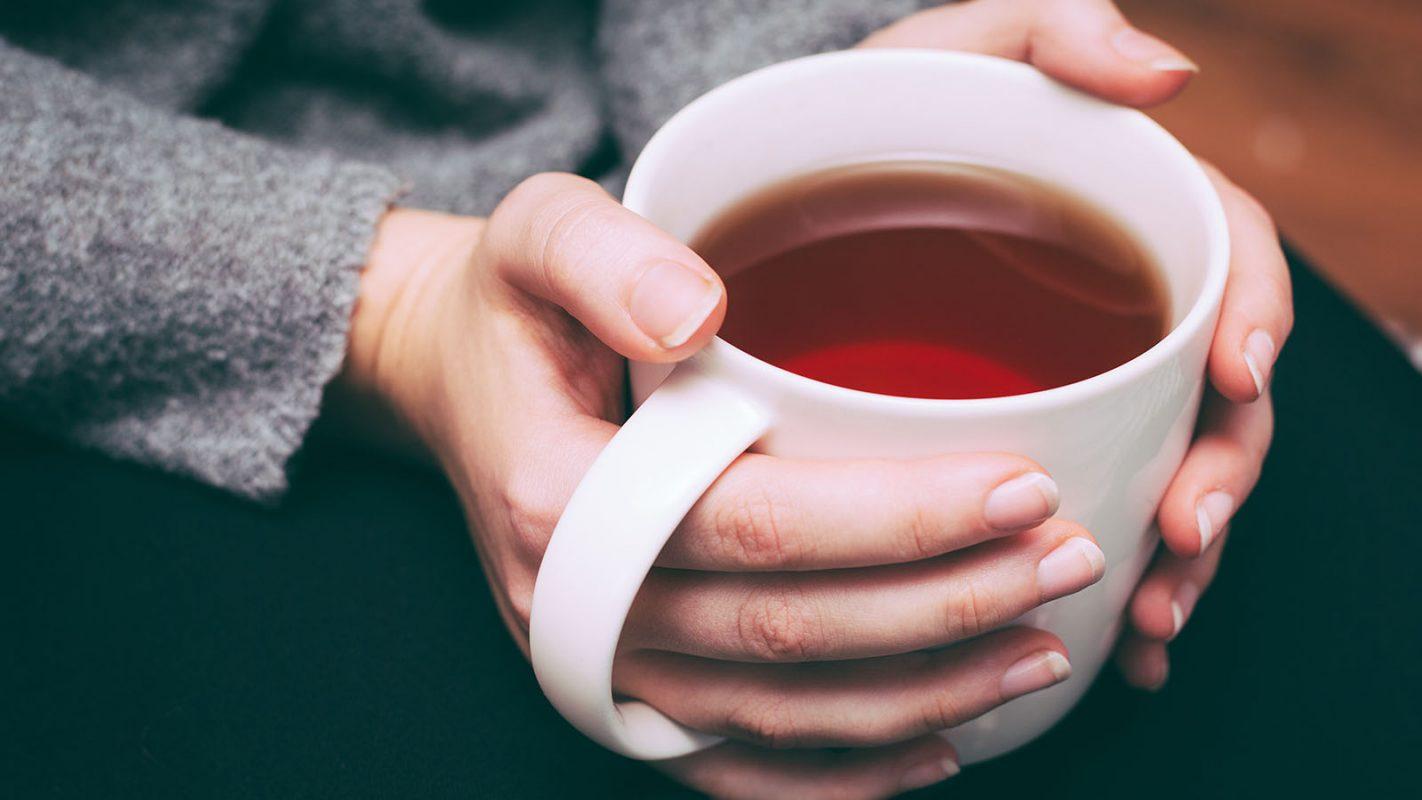 koffeinhaltige Getränke Tee