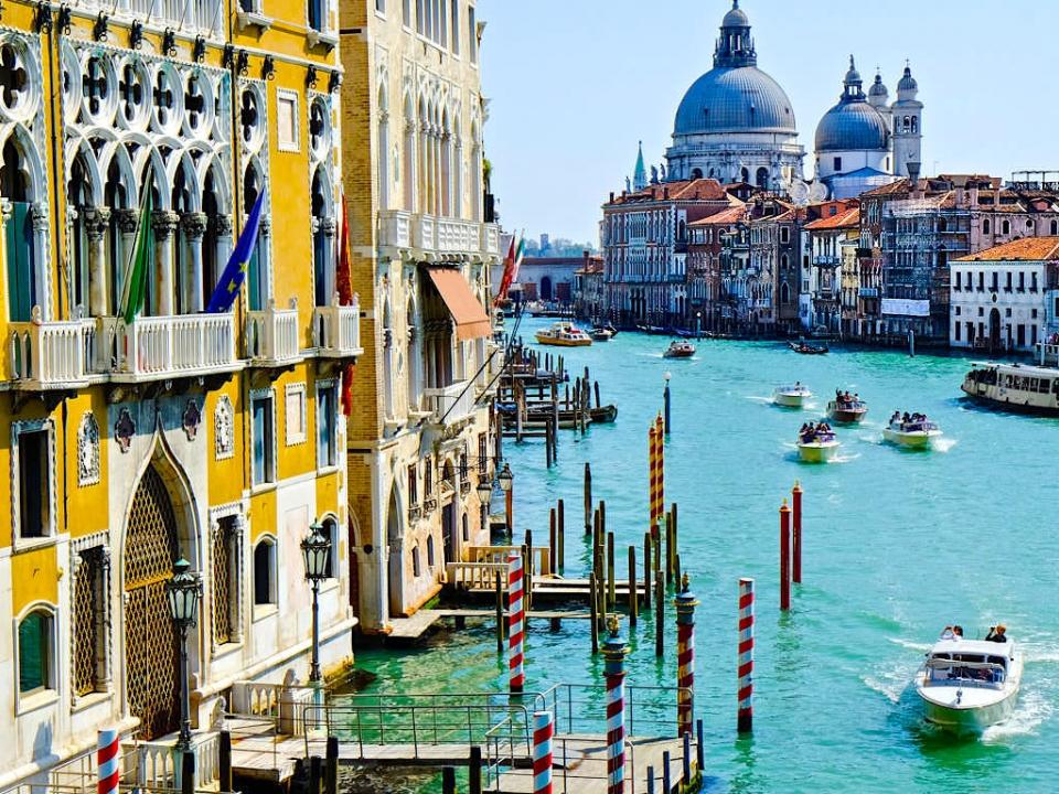 Venedig besuchen Gruppenreise Damen