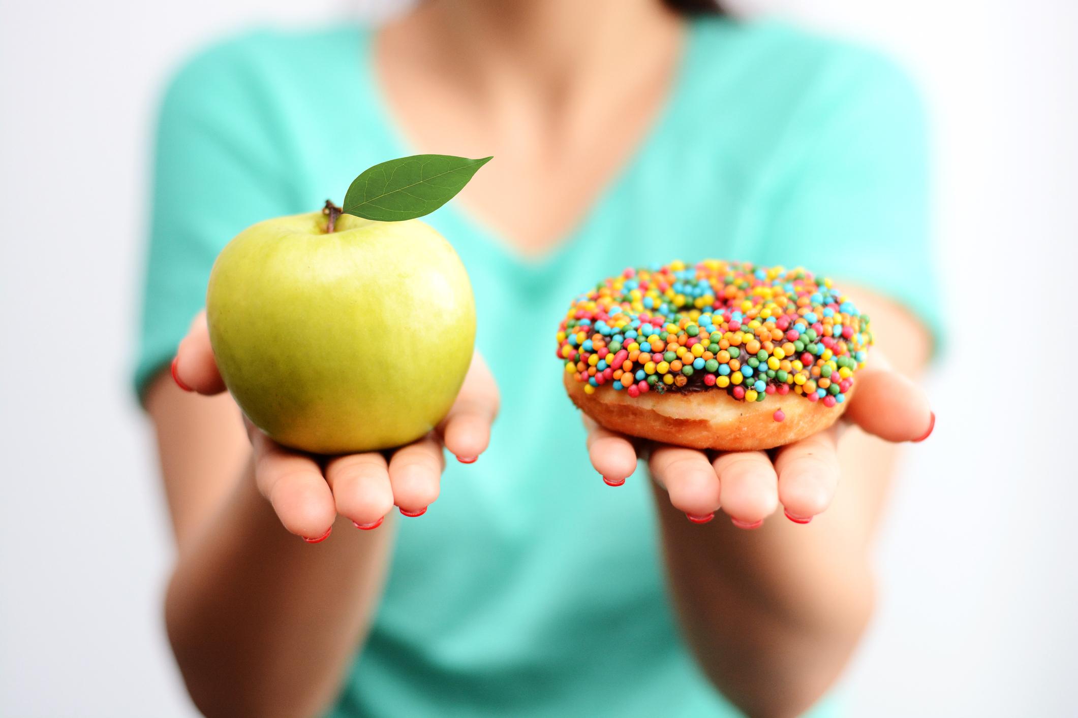 schnell abnehmen auf den Zucker