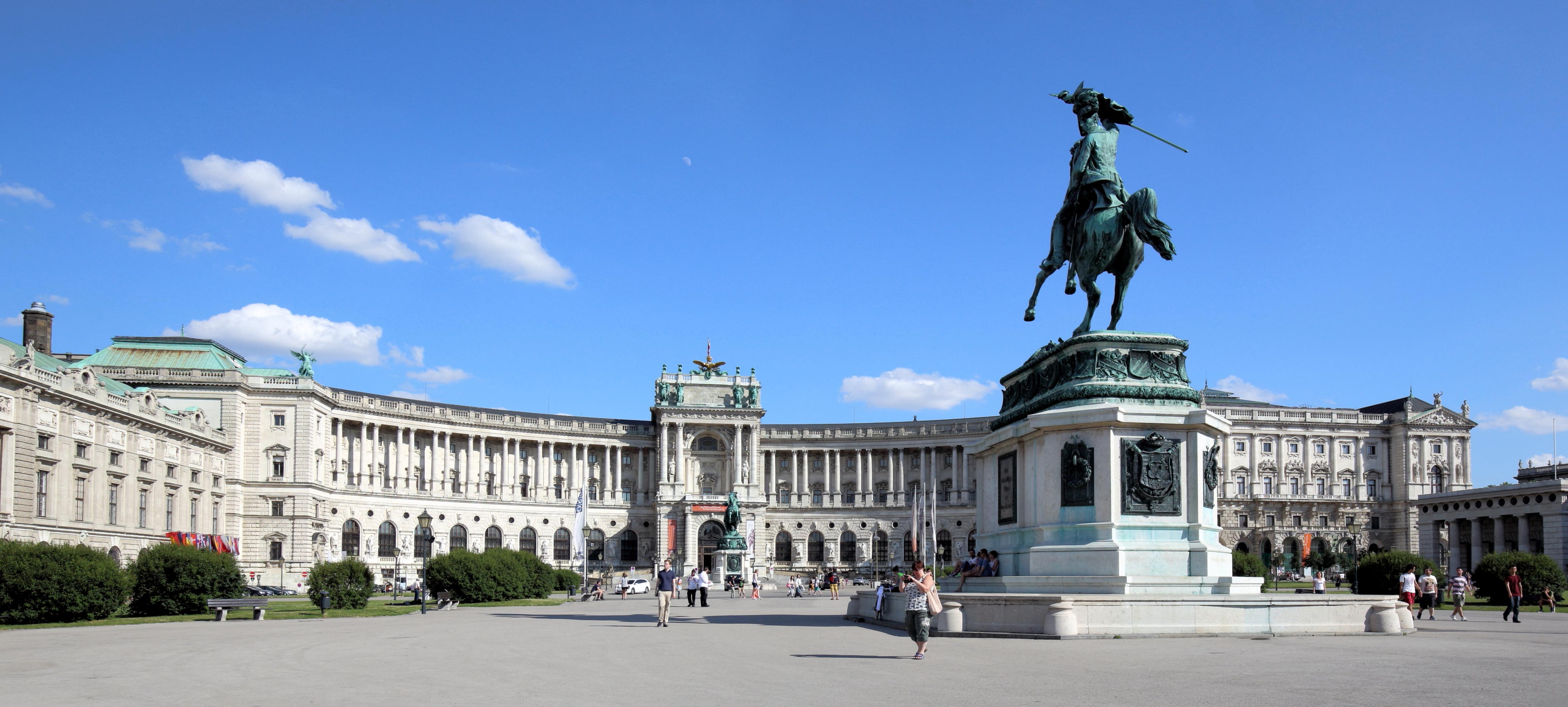 Frauen unterwegs in Europa reisen Wien
