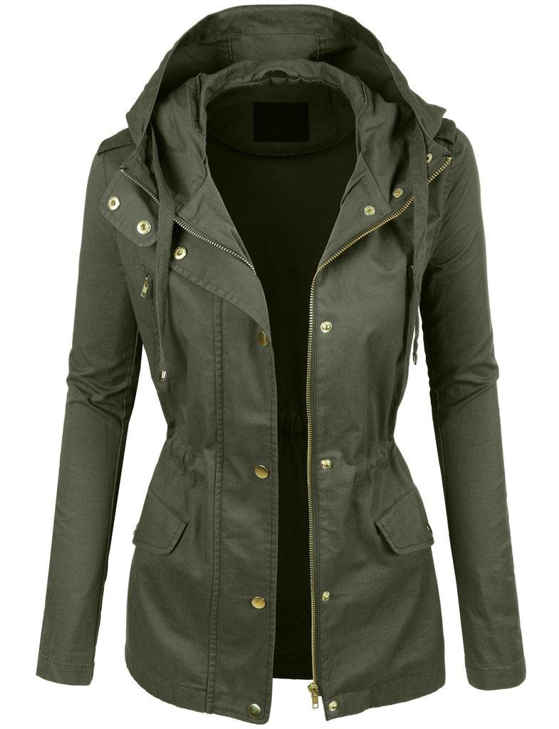 Military Jacke Damen Winter modern