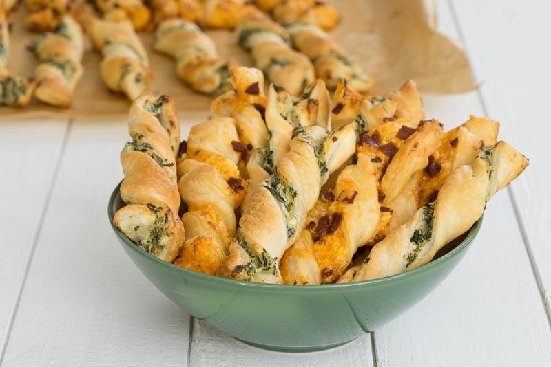 Fingerfood Rezepte Ziegenkäserollen