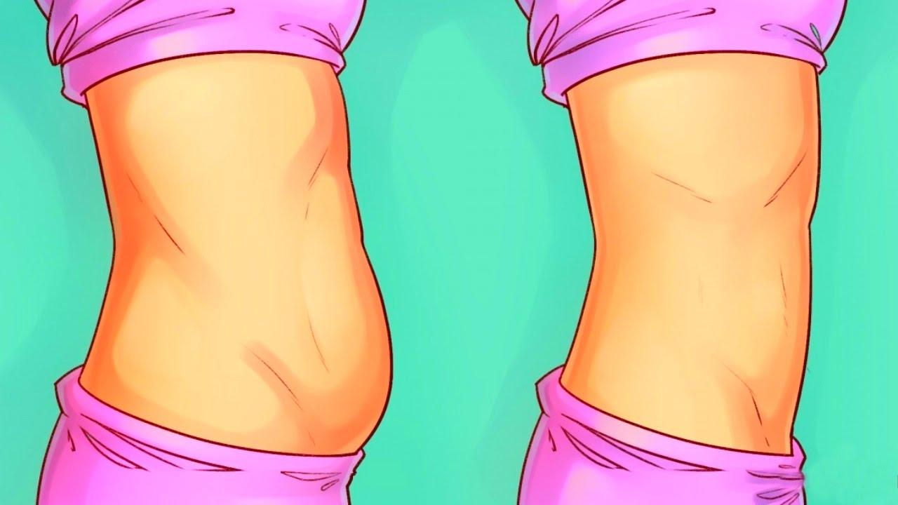 Abnehmen am Bauch vorher nachher Tipps
