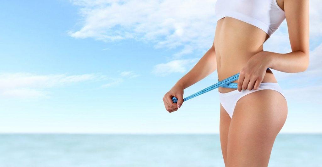 Abnehmen am Bauch Sport und Diät kombinieren