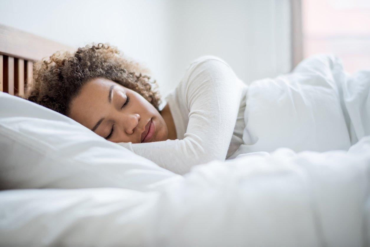 Abnehmen am Bauch ausreichend schlafen