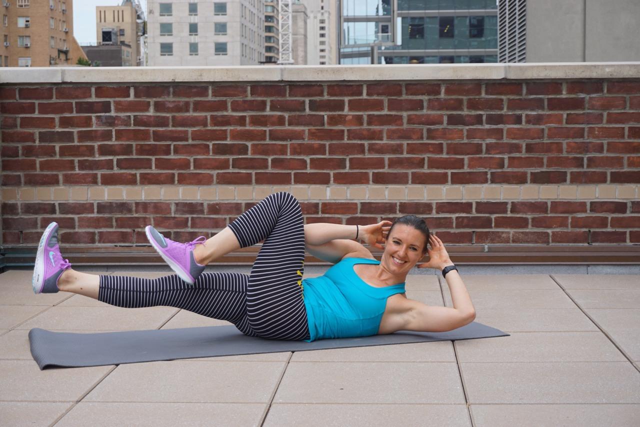 Abs Workout Übungen effektvoll