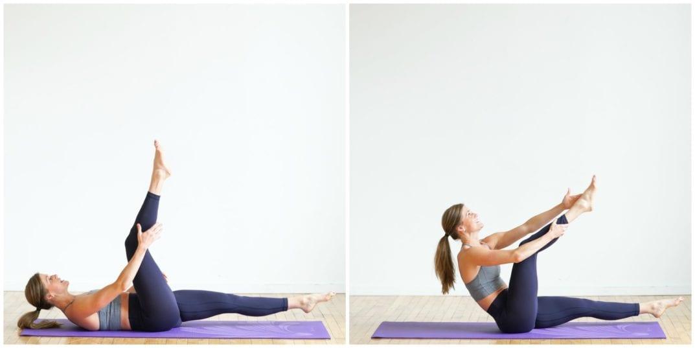 wirkungsvolle Übungen Abs Workout