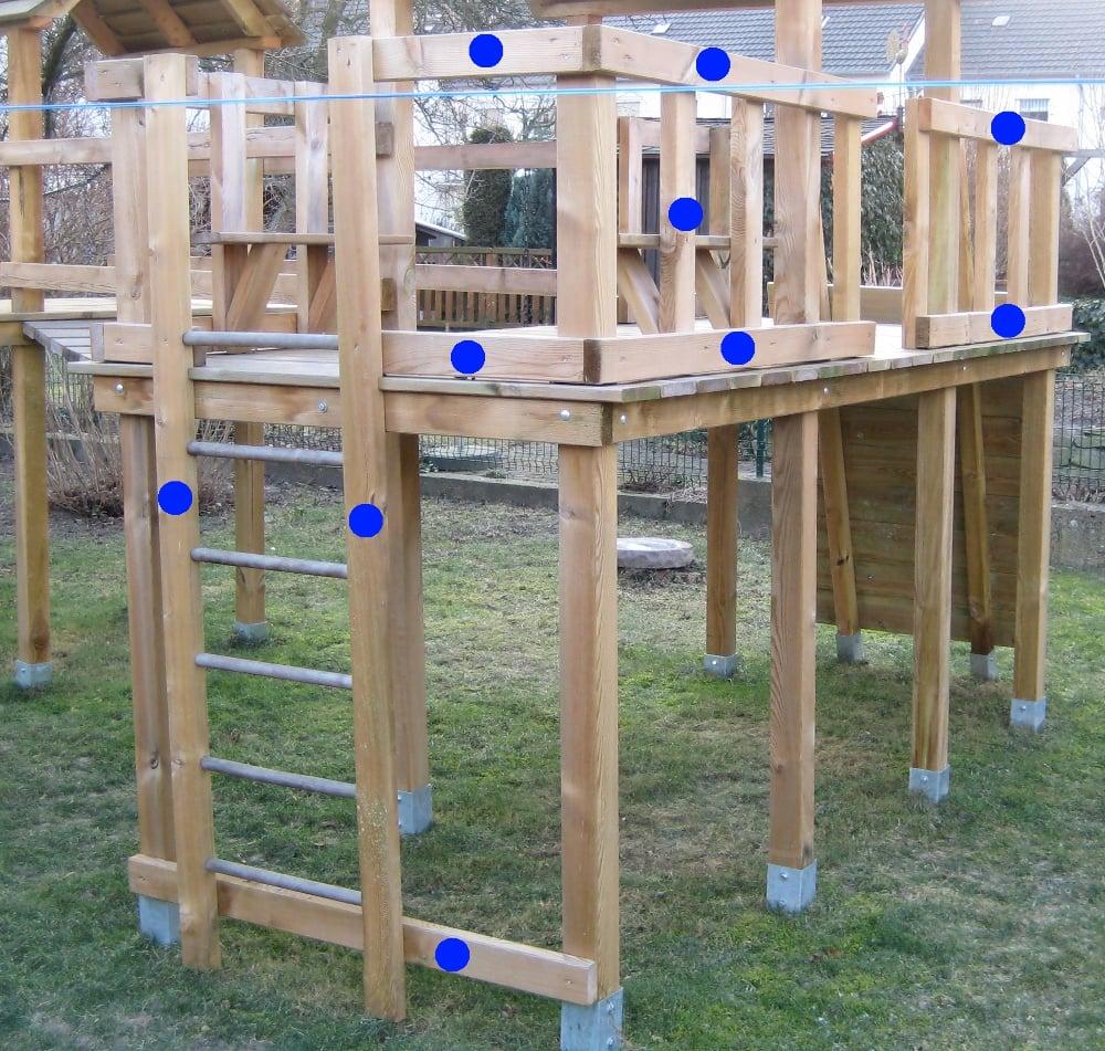 Klettergerüst bauen wie geht es