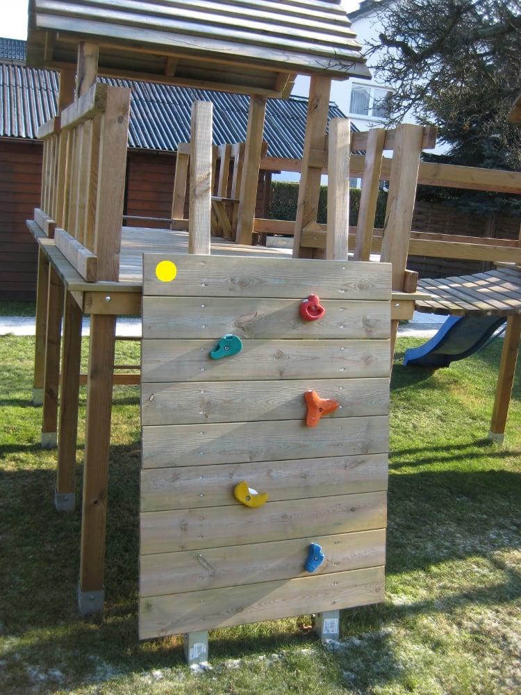 Kletterwand bauen Anleitung