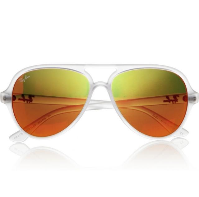 Aviator Brillen Gläser gelblich-orange