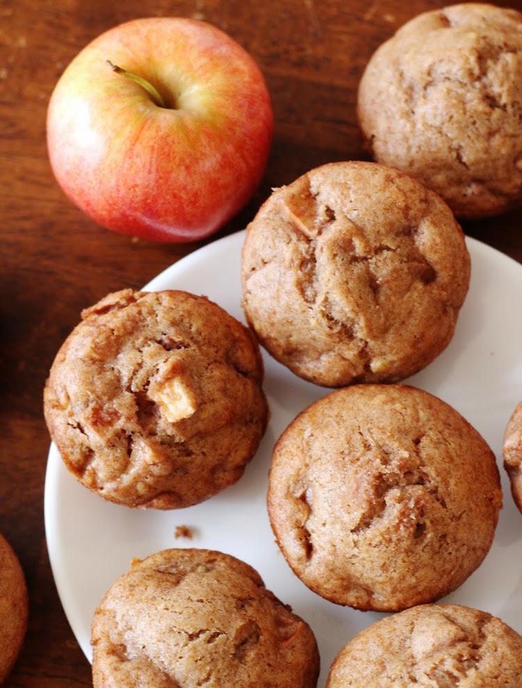 vegane Muffins mit Apfel Rezept