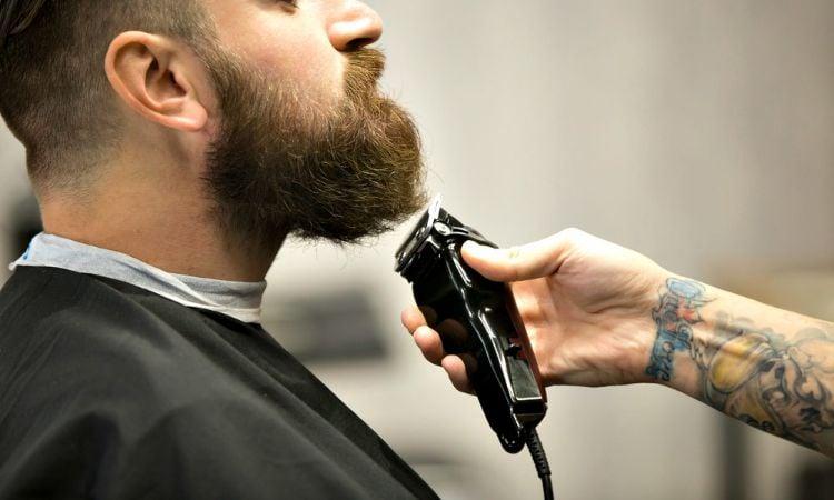 Bartpflege formen Haarschneidemaschine