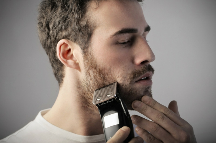 Bartpflege Rasieren klare Konture