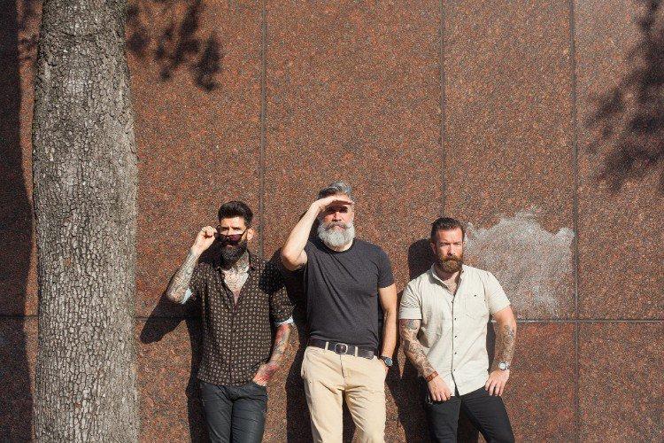 moderne Bartfrisuren Männer 2019