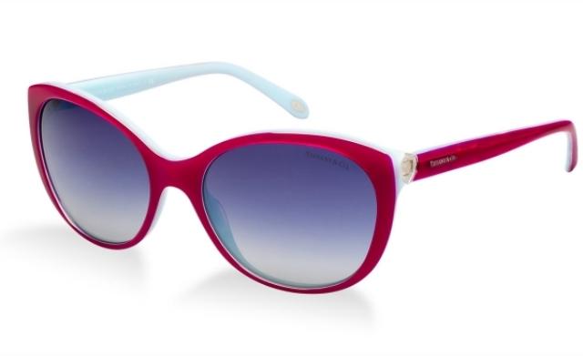 Sonnenbrille Damen Plastikgestell in zwei Farben schick