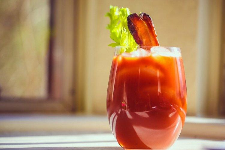Bloody Mary Rezept kalt servieren