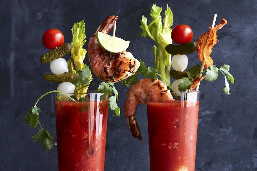 Bloody Mary garnieren kreativ Fingerfood