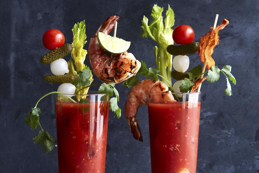 Bloody Mary garnieren kreativ Fingerfood