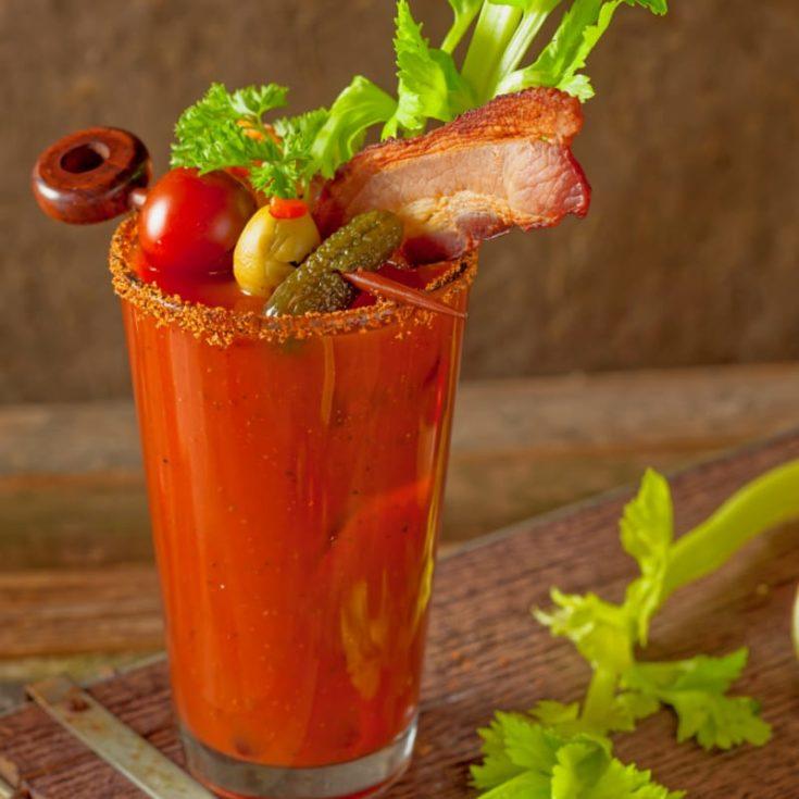 Bloody Mary leckere Ideen Spieße