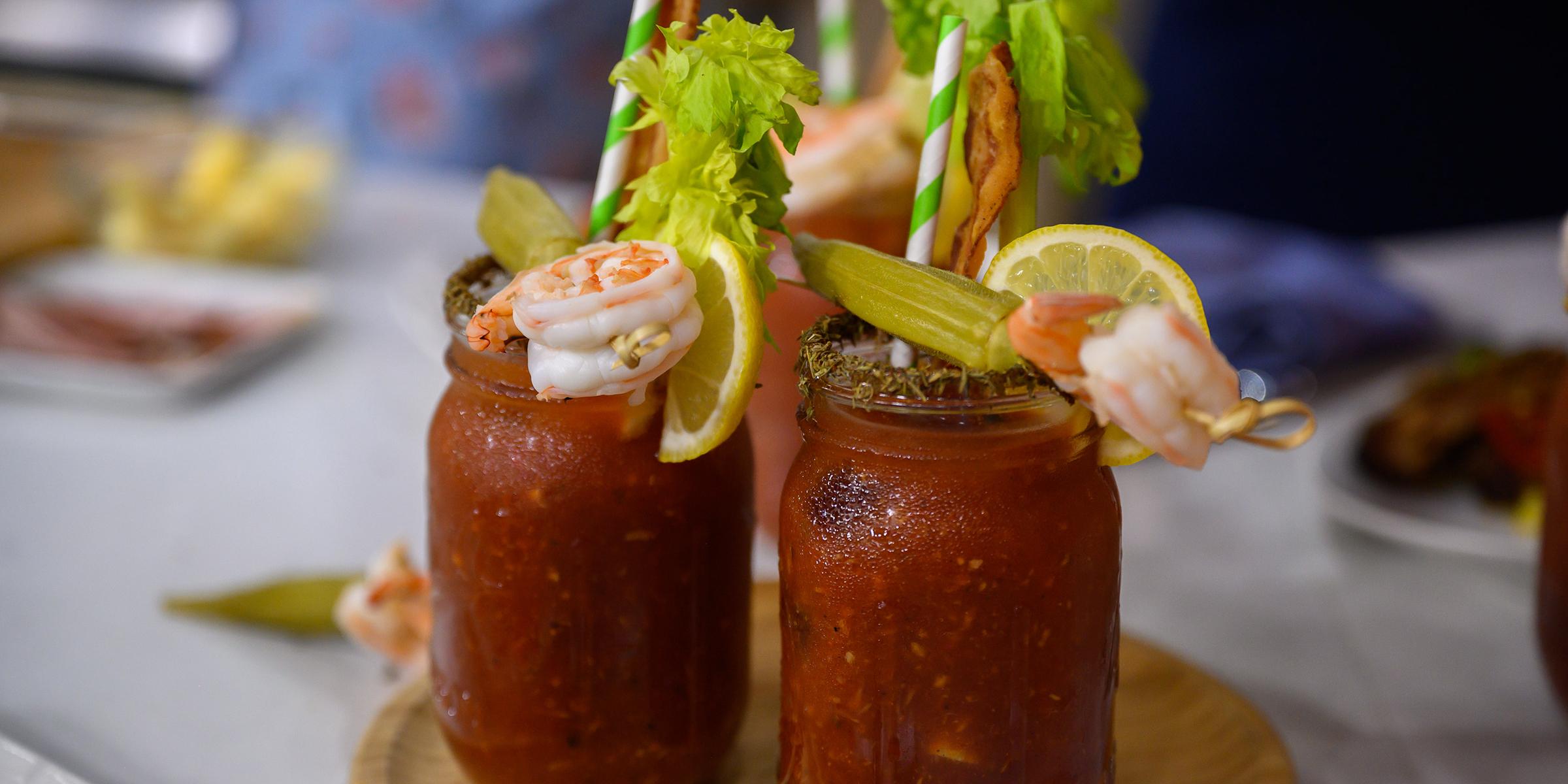 Bloody Mary Rezept tolle Ideen zum Garnieren