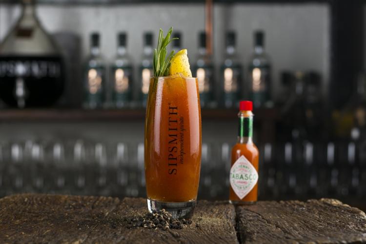 Bloody Mary scharf mit Tabasco Sauce