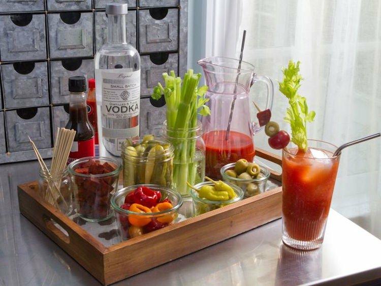Bloody Mary selber zubereiten Zutaten