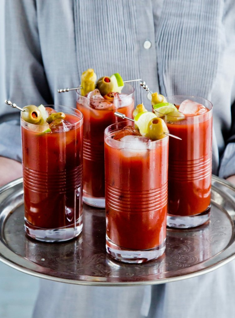 Bloody Mary Serviervorschlag